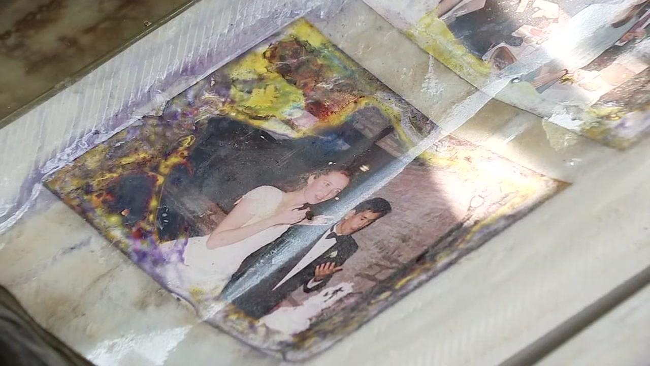 Family reunited with photo album found in floodwaters