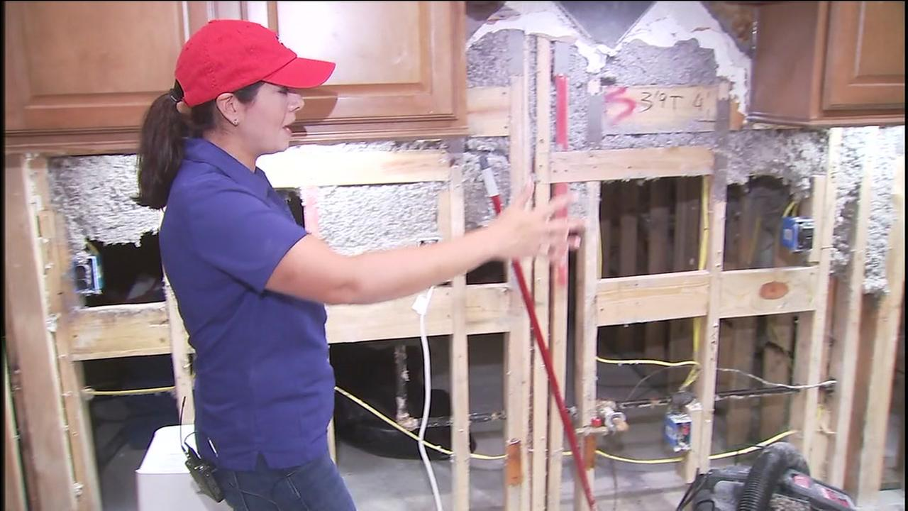 Patricia Lopezs tips on flood cleanup in her Kingwood home