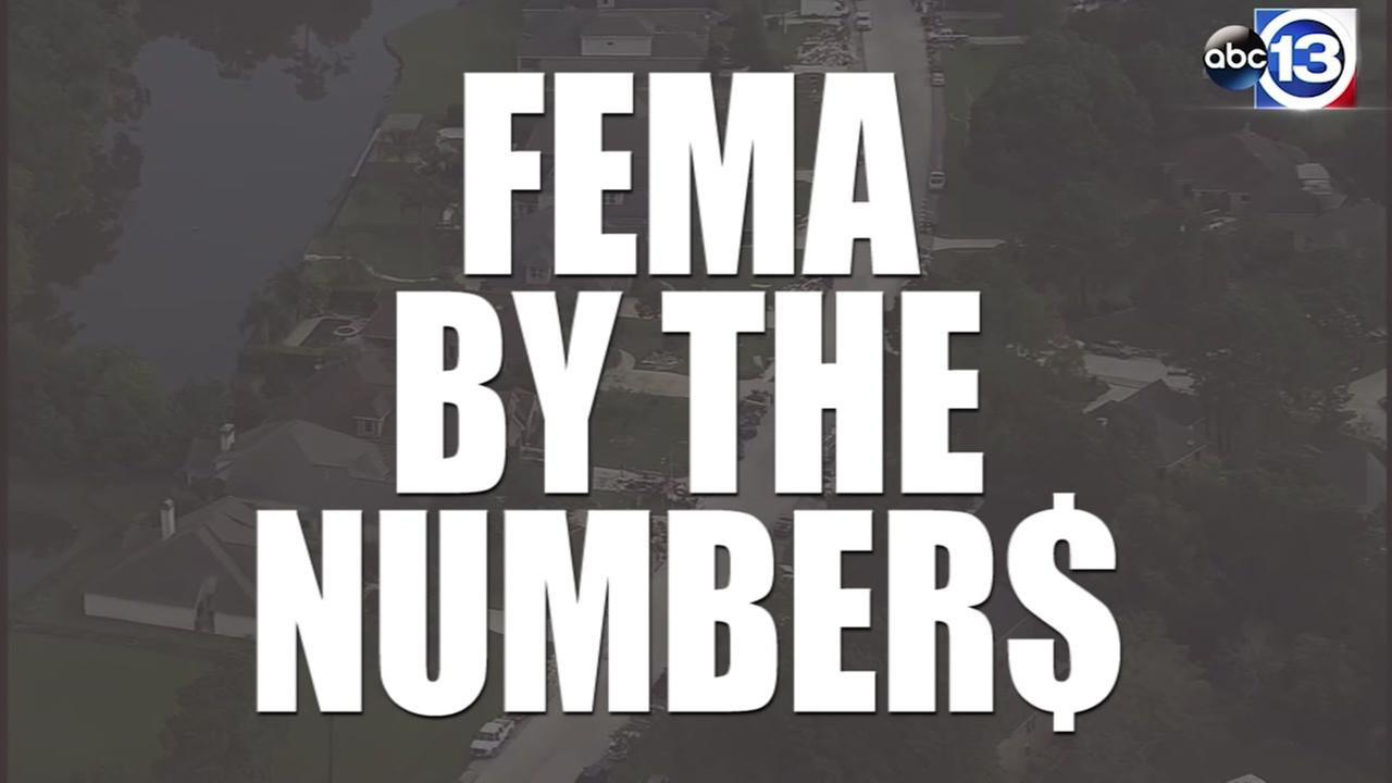 FEMA by the numbers