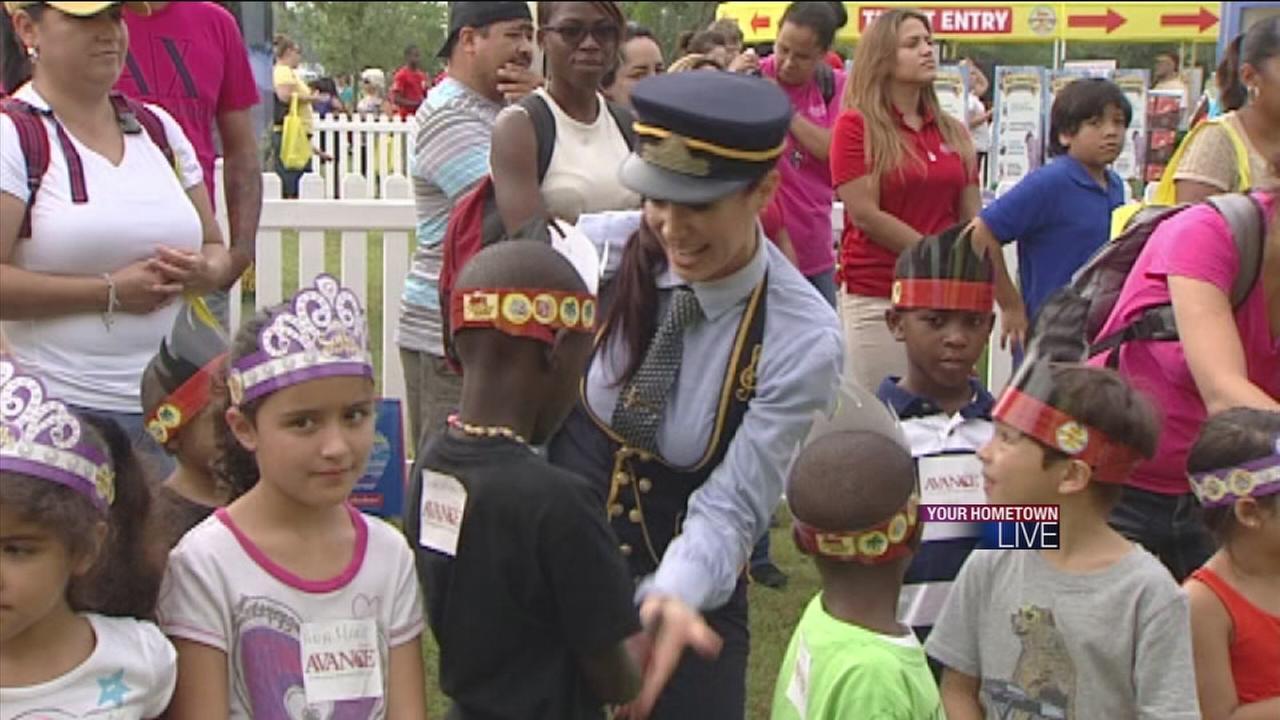 Kids learn power of doing good via Disney summer tour