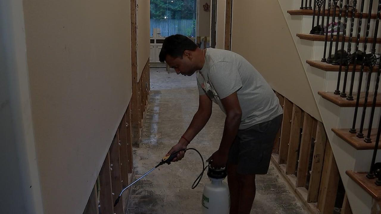 How to add more protection to prevent mold during flood cleanup