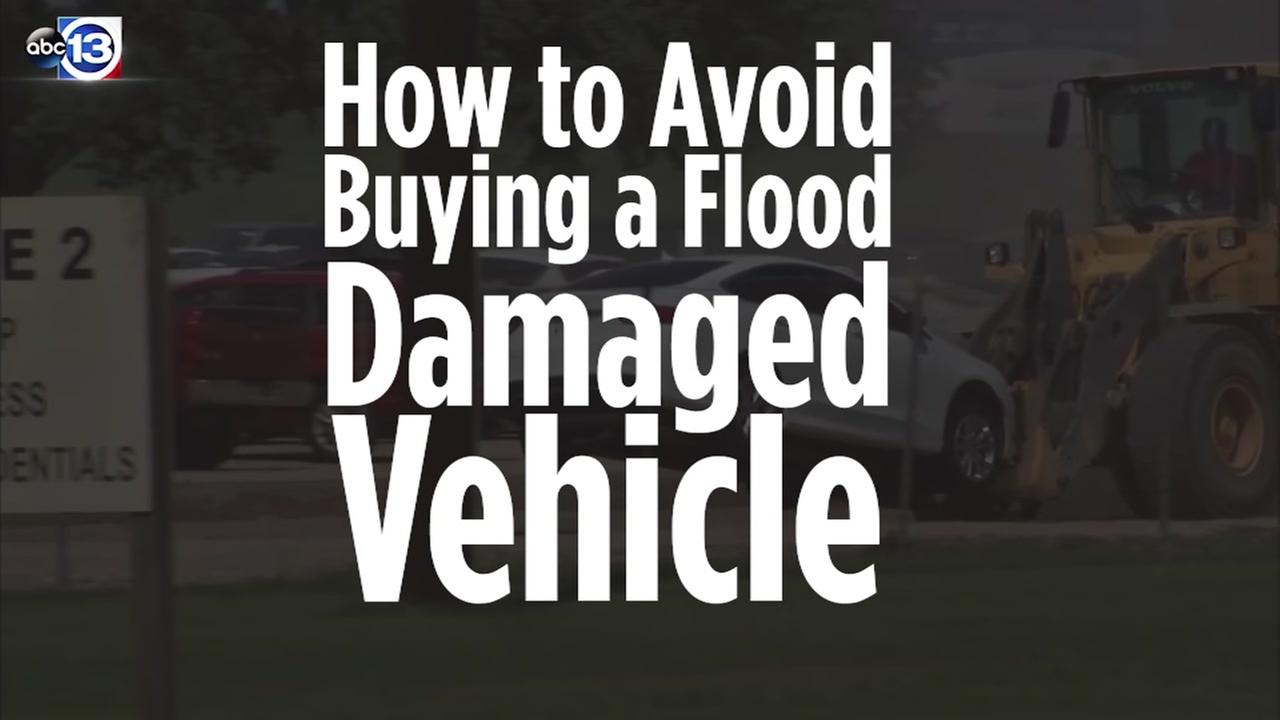 Tips to avoid buying a flood damaged vehicle