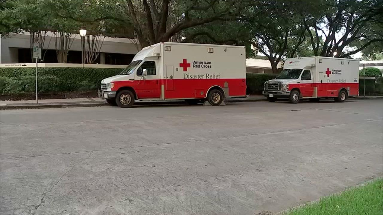 Red Cross stays in expensive Houston hotel
