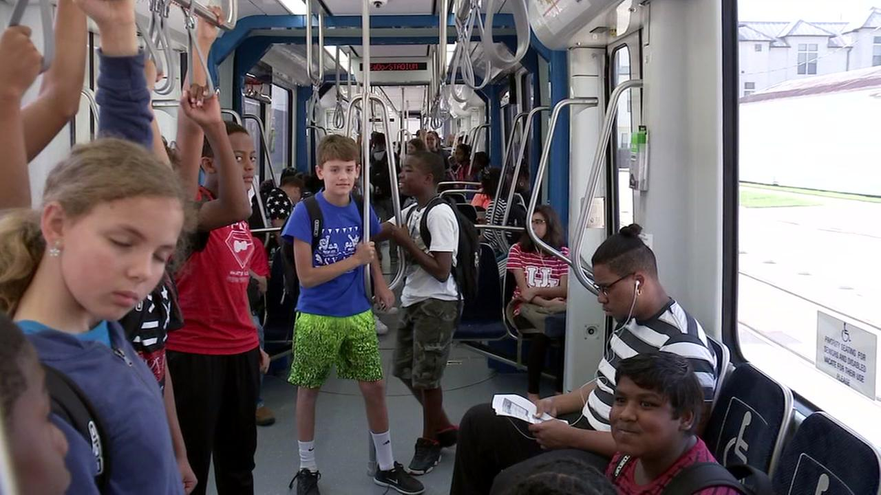 METRO give students free ride