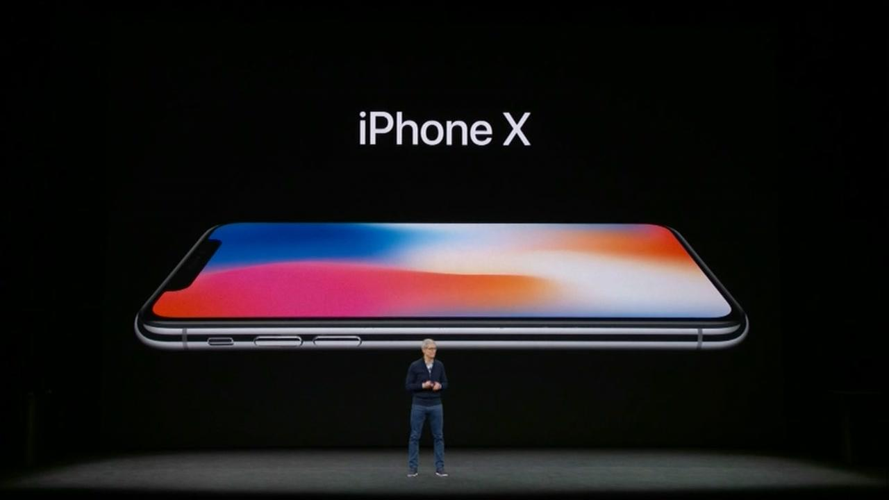 Apple unveils $999 iPhone X, minus home button