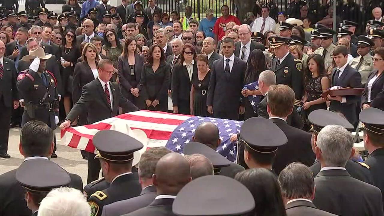 Houston honors Sgt. Steve Perez