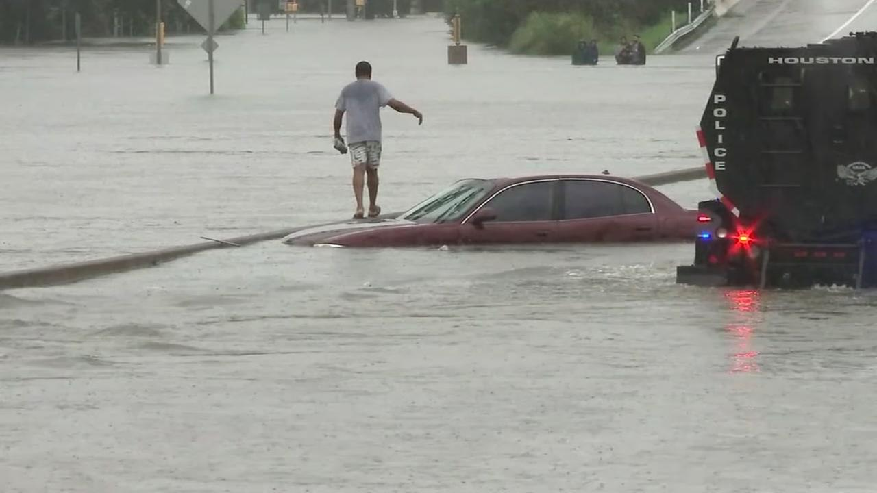 Crushing weight of Harvey flood pushed Houston down