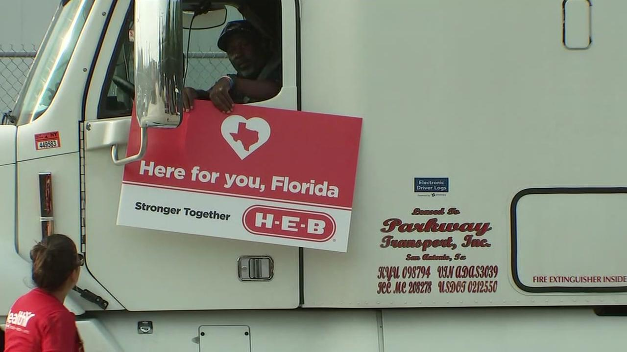 HEB sends aid to Florida