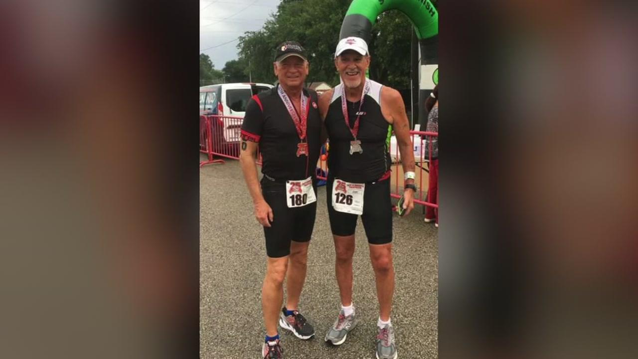 Patient runs with heart surgeon who saved his life