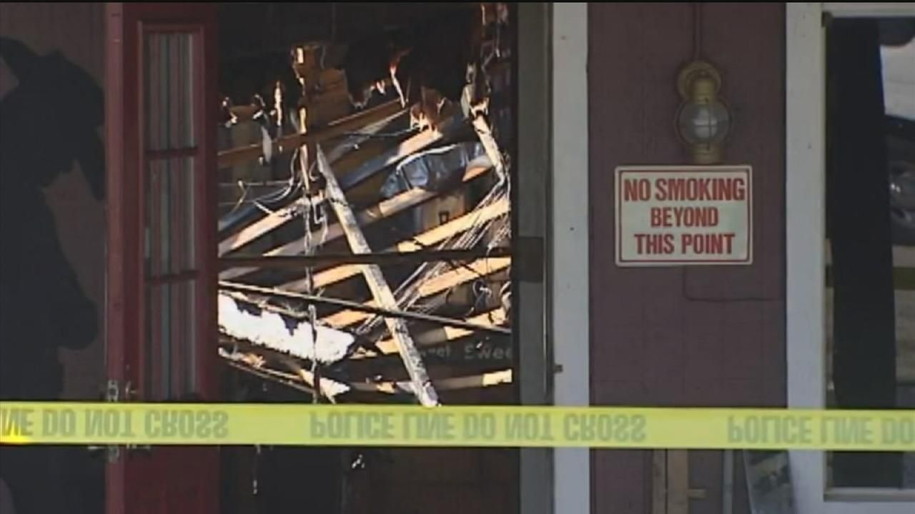 Family owned restaurant goes up in flames