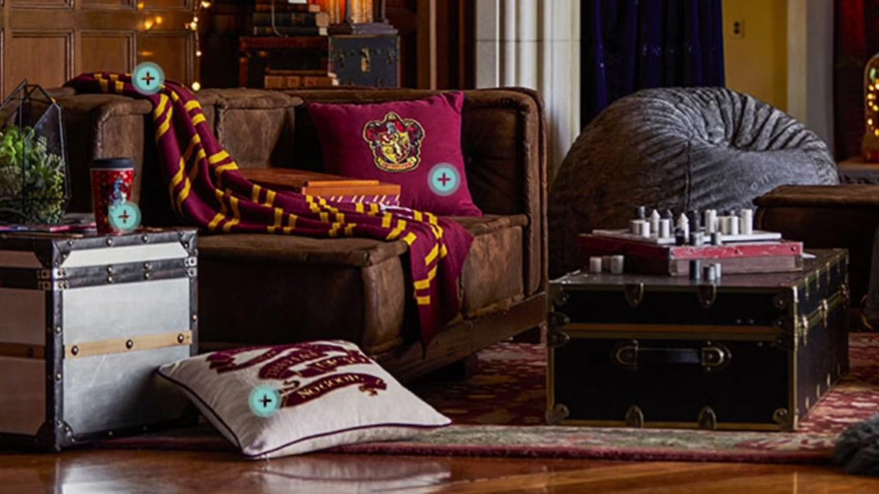 Pottery Barn unveils new Harry Potter collection