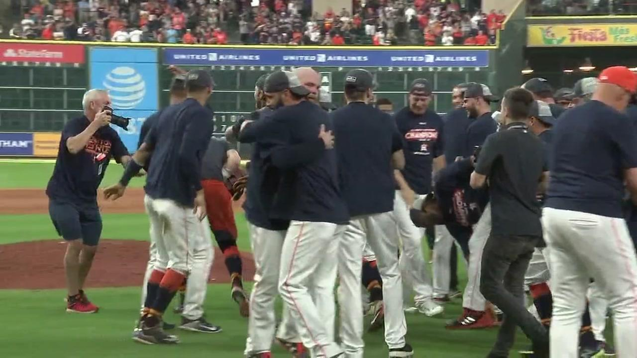 Houston Astros officially AL West Champions