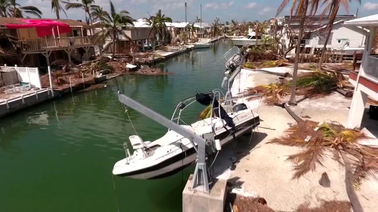 Residents return to Irma-battered Keys