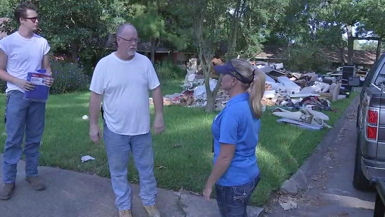 Dickinson residents continue to recover from Harvey