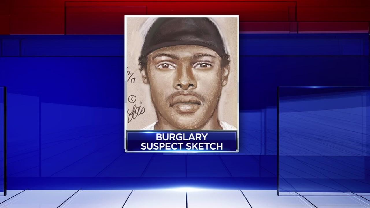 Sketch of gun store burglar released