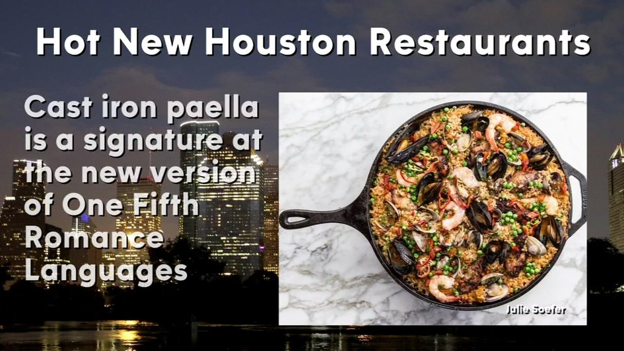 Hot new Houston restaurants