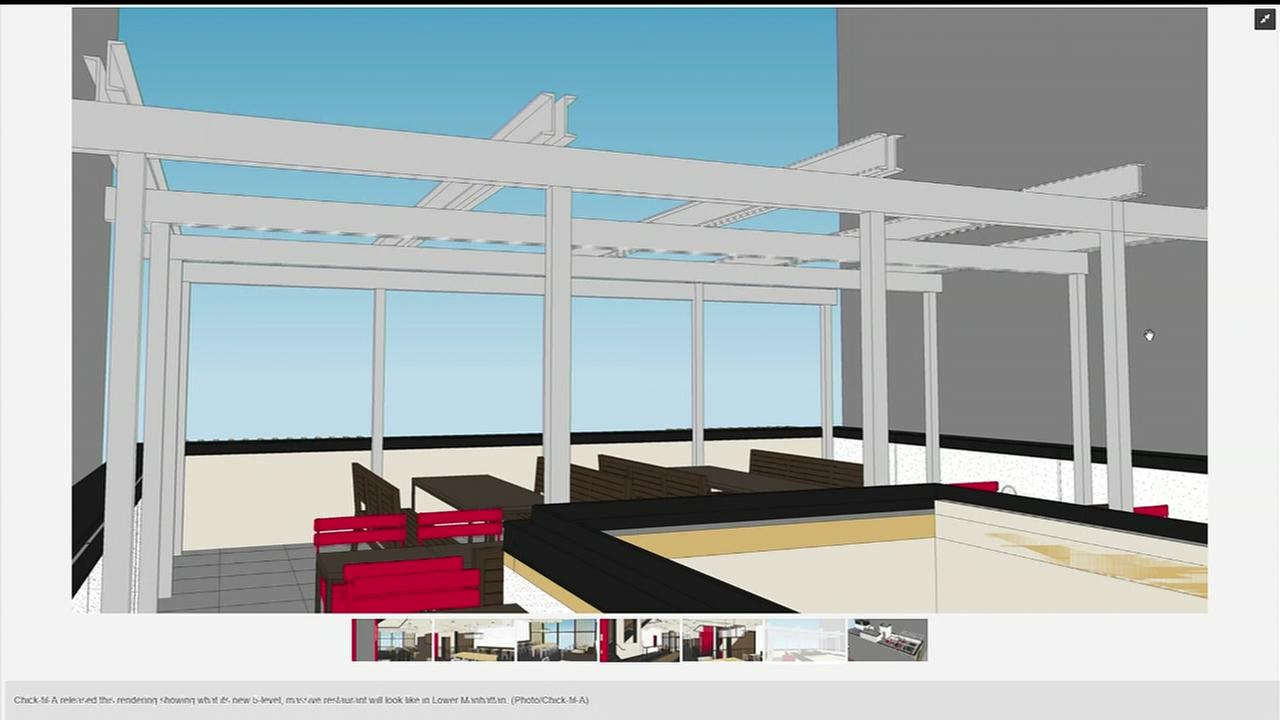 5-floor Chick-fil-A with rooftop will be biggest ever