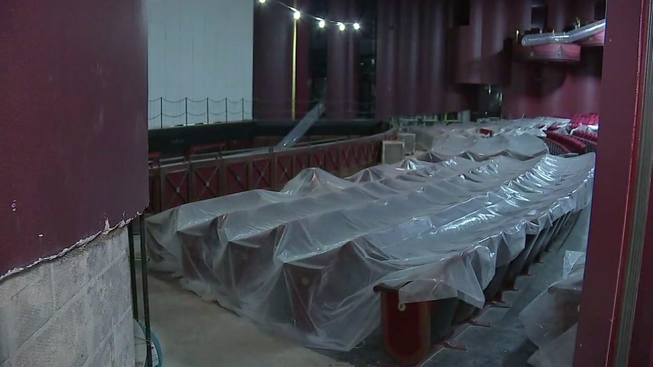 ABC13s Jeff Ehling takes a tour of the damage at the Wortham Center