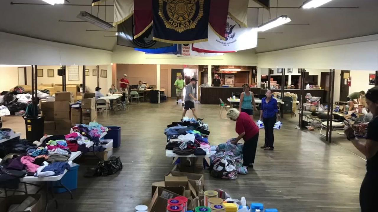 Former Marine helps others during Harvey
