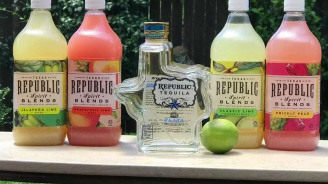 Republic Tequila unveils new line of fruity mixers