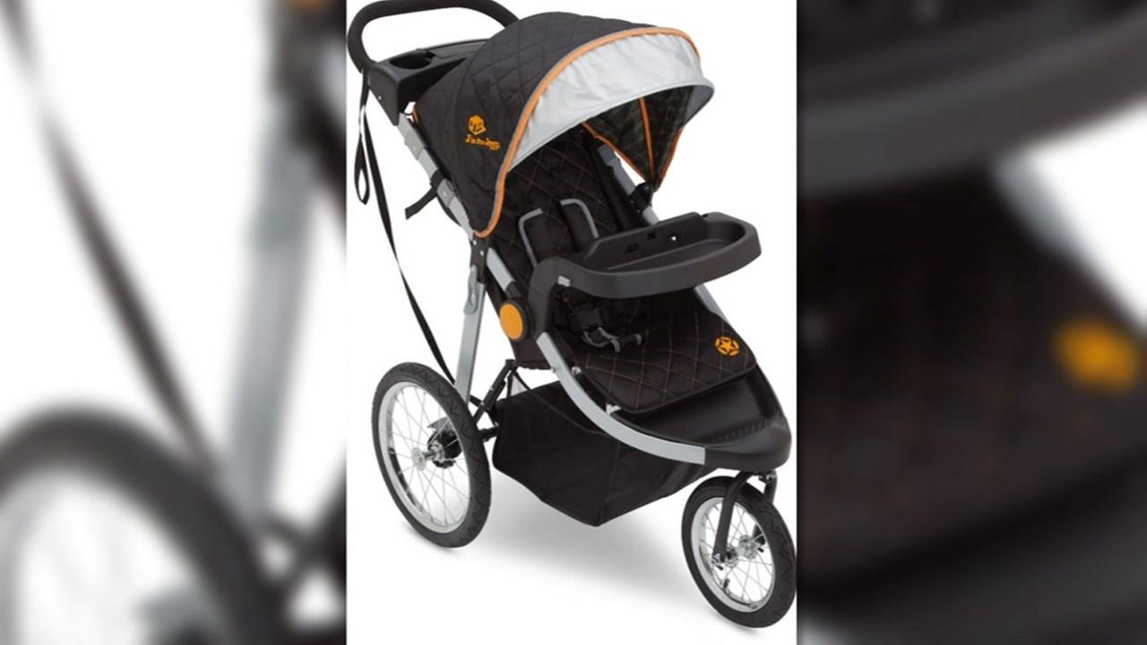 RECALL ALERT: J is for Jeep strollers has fall hazard