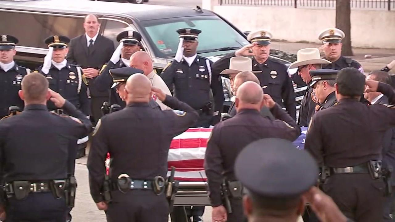 METRO officer laid to rest