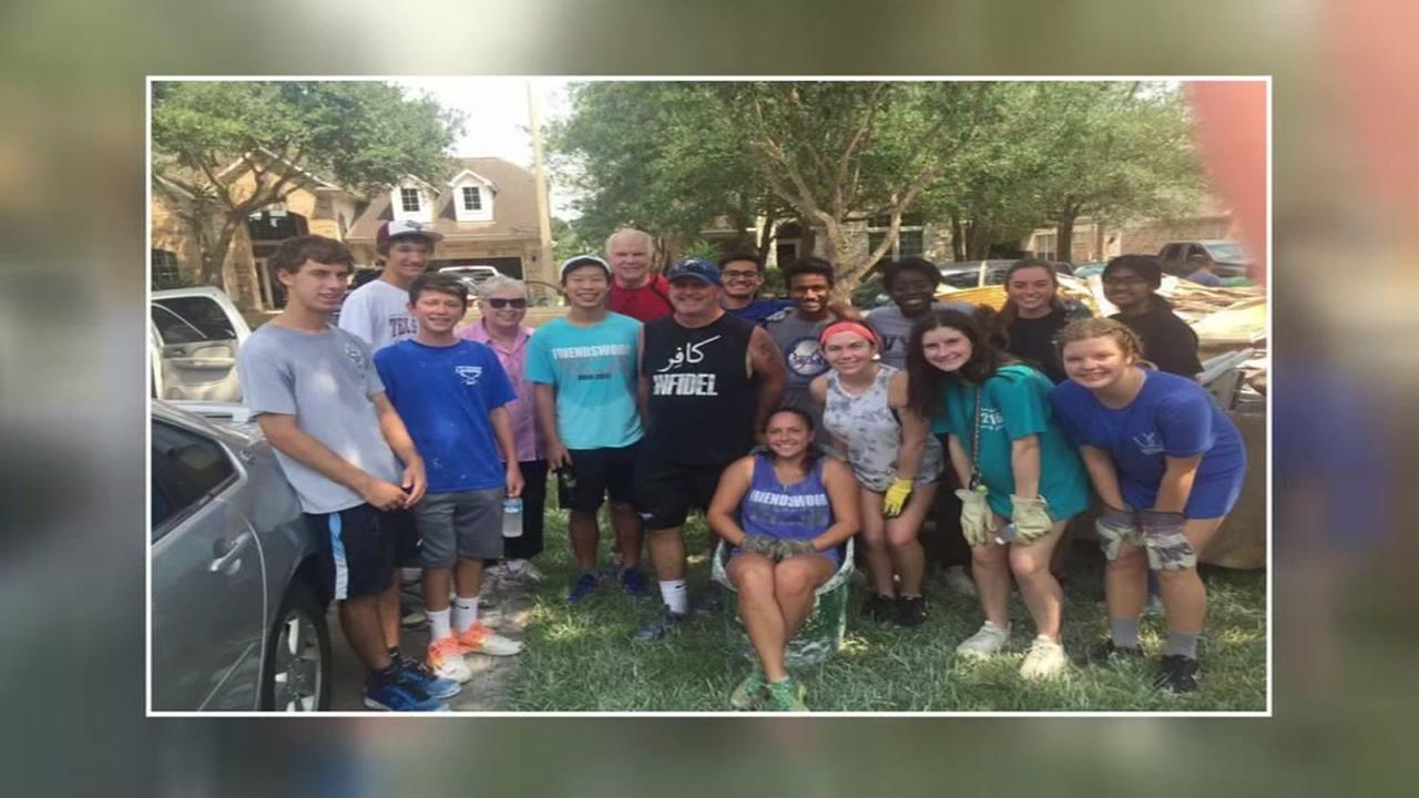 Friendswood HS students learn lessons from Harvey