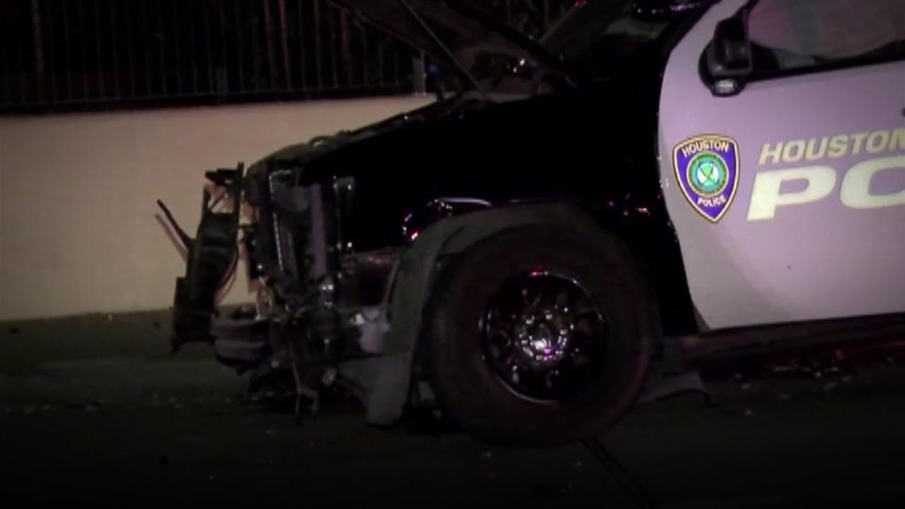 Recent crashes involving Houston-area law enforcement
