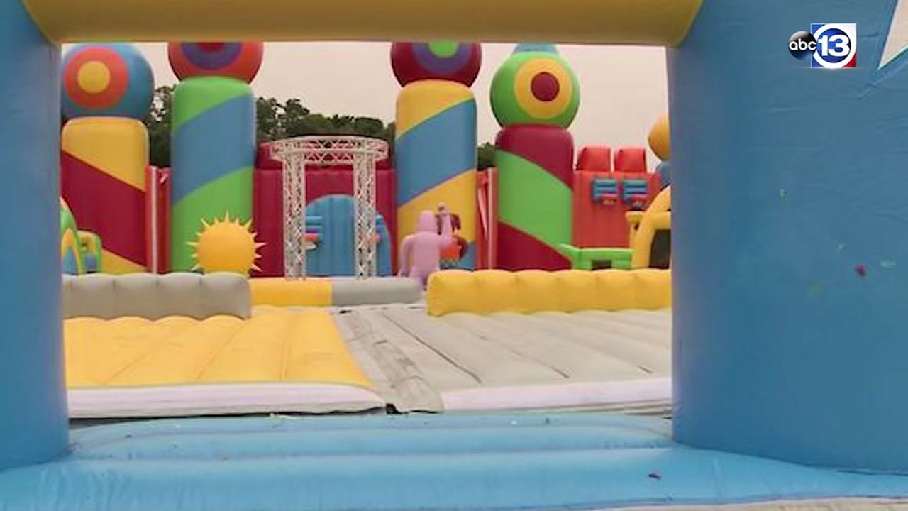 Worlds biggest bounce house coming to Houston