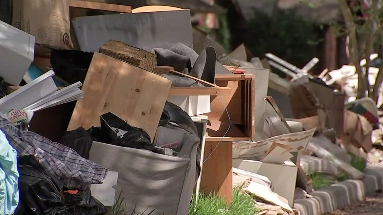 Latest on debris pick up from Harvey