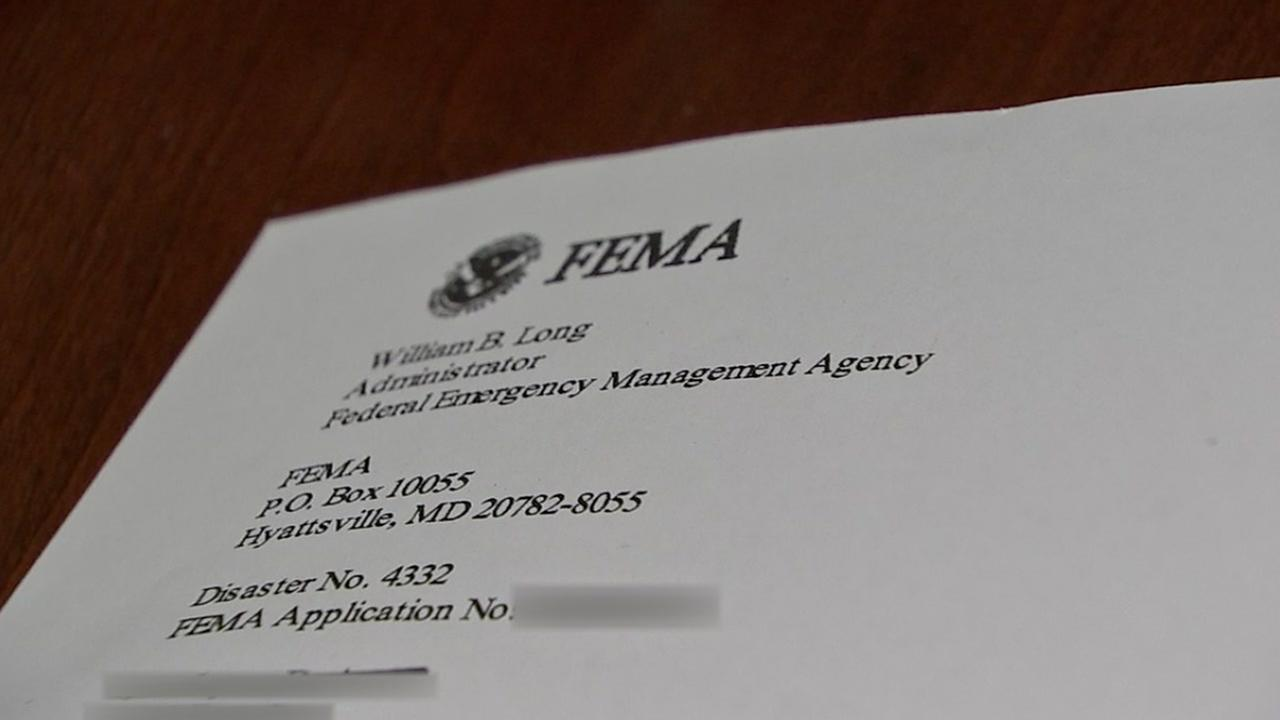Womans identity seemingly stolen for FEMA funds