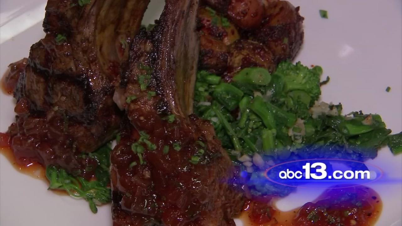 Lets Eat - Grilled lamb chops