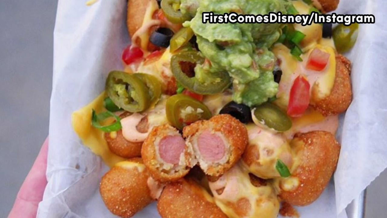 Disneyland offers magical mini corn dog nachos