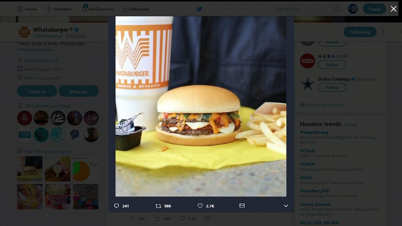 Whataburger new spicy burger