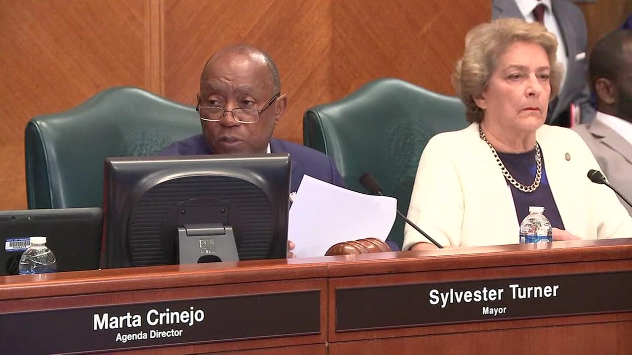 What city leaders did at Houston City Council today