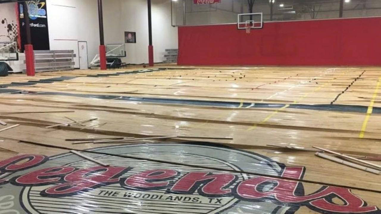 Legends sports complex in The Woodlands closes, due to damage from Harvey