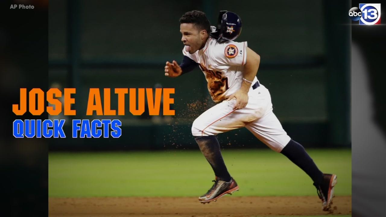 Here are quick facts on Astros slugger Jose Altuve