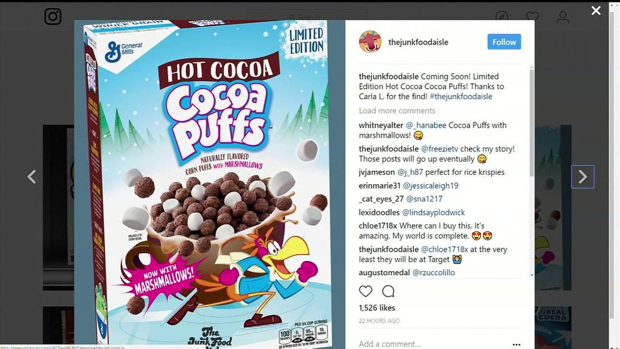 Cocoa Puffs unveils new hot cocoa version