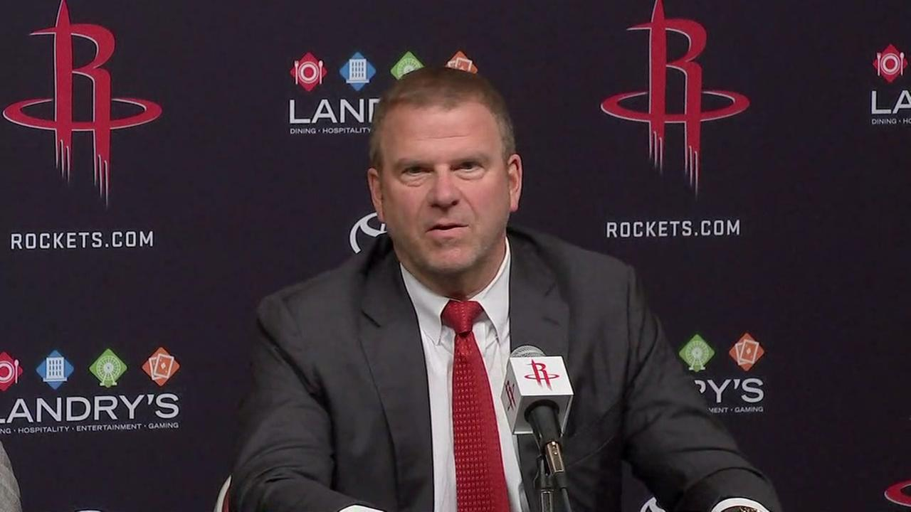 Tillman Fertitta says owning the Rockets is a dream come true