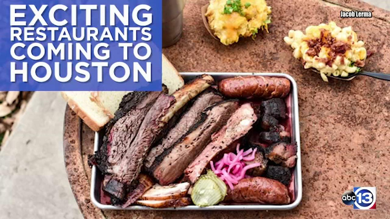 Exciting new restaurants coming to Houston