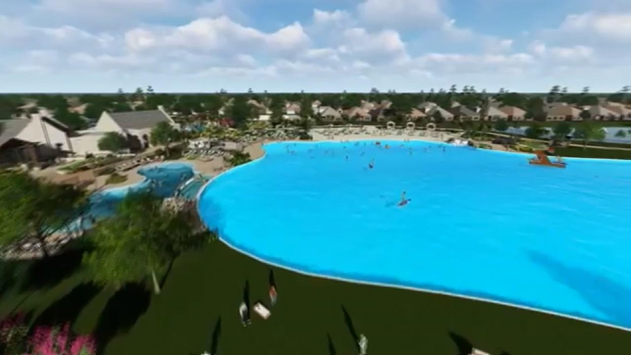 Fresh water lagoon to be signature feature of Balmoral development in Atascocita