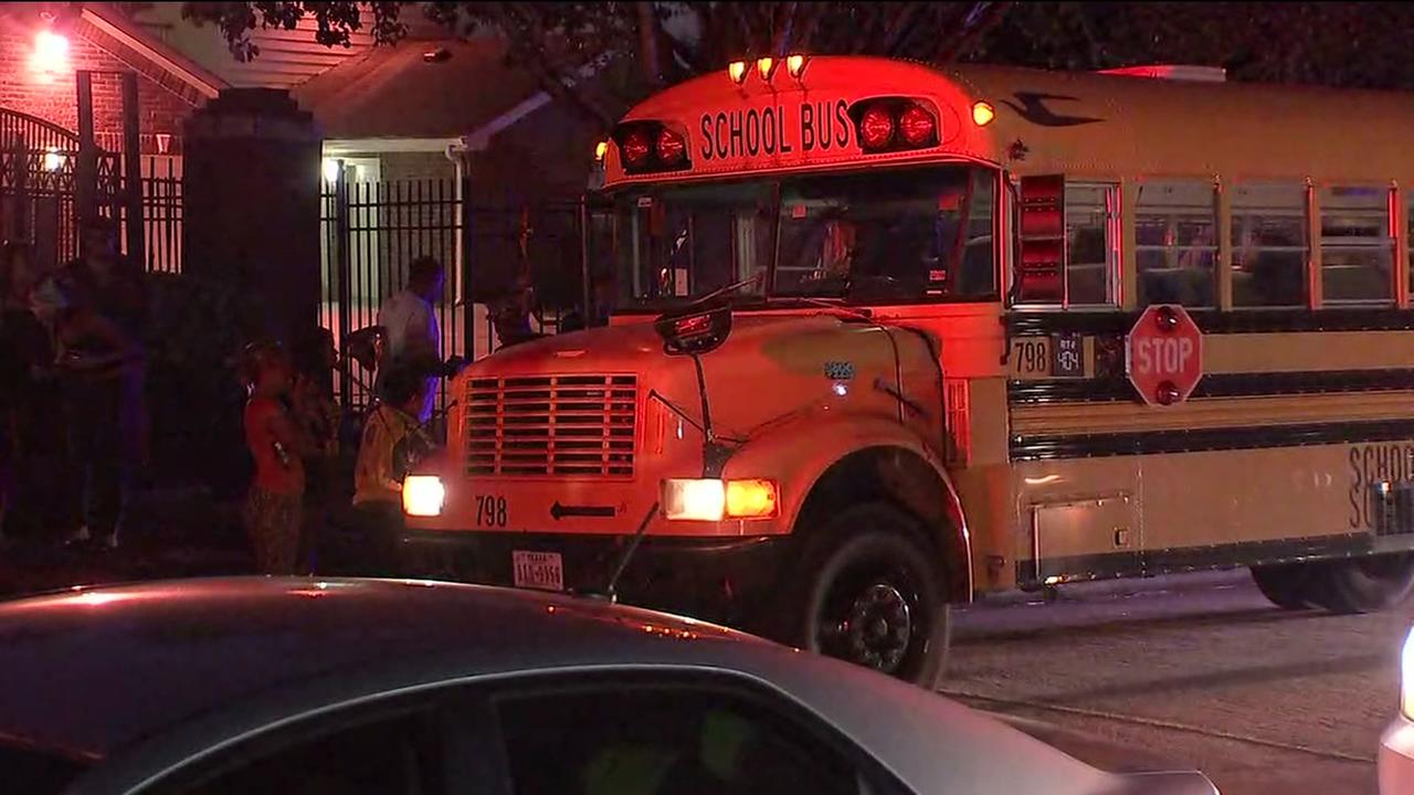 Aldine ISD bus crash