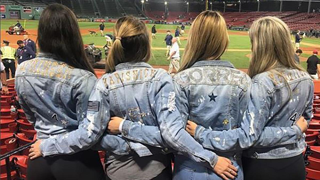 Astros Wives And Girlfriends Sport Matching Bedazzled
