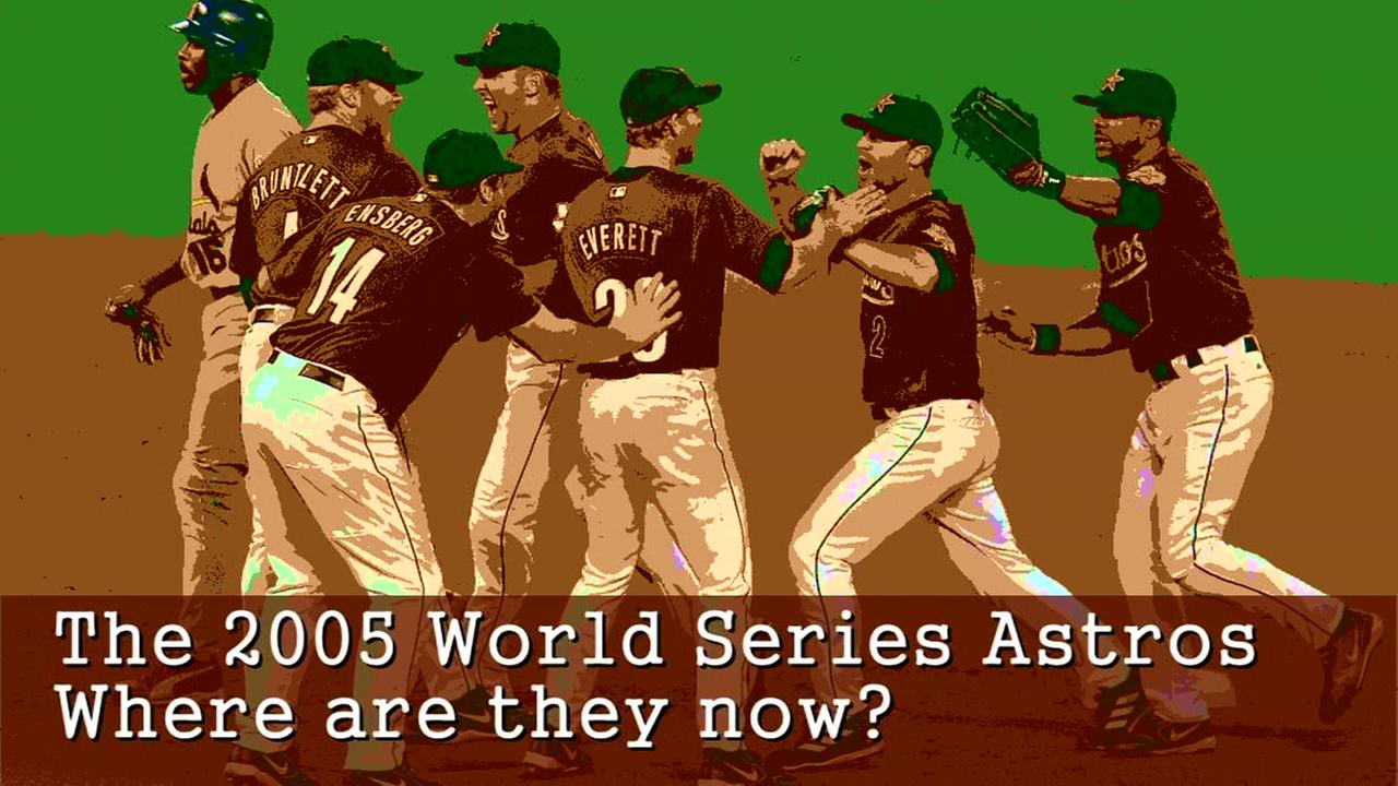 Take a look at where some of the 2005 Astros are now