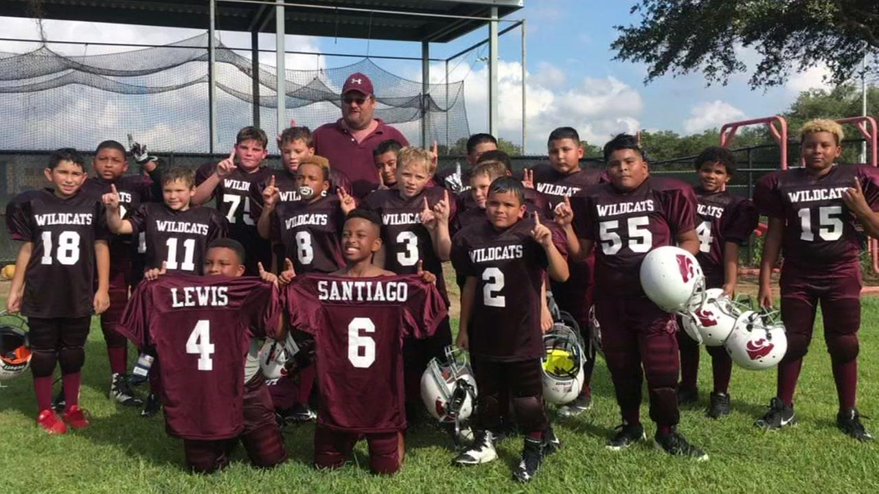 Youth football teammates tackle cancer together