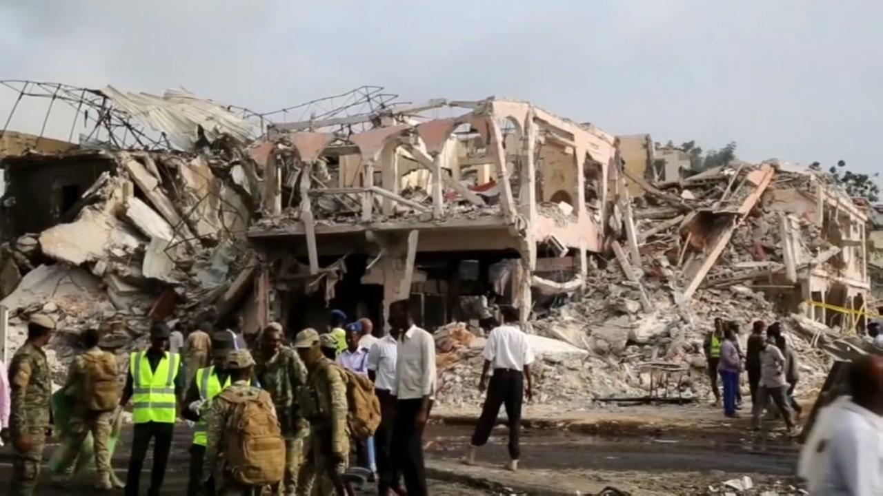 189 killed in violent truck bombing in Somalia
