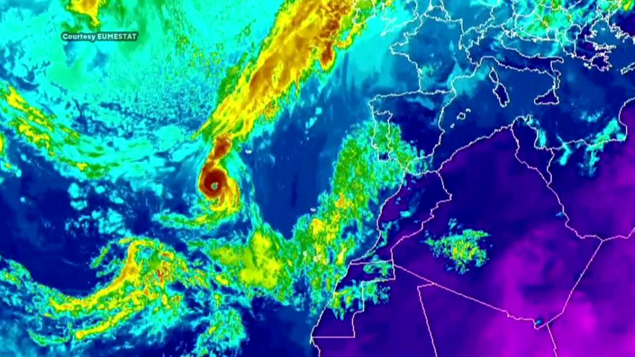 Hurricane Ophelia headed to Europe