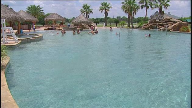 Pool Take a tour inside the worlds largest backyard pool abc13com