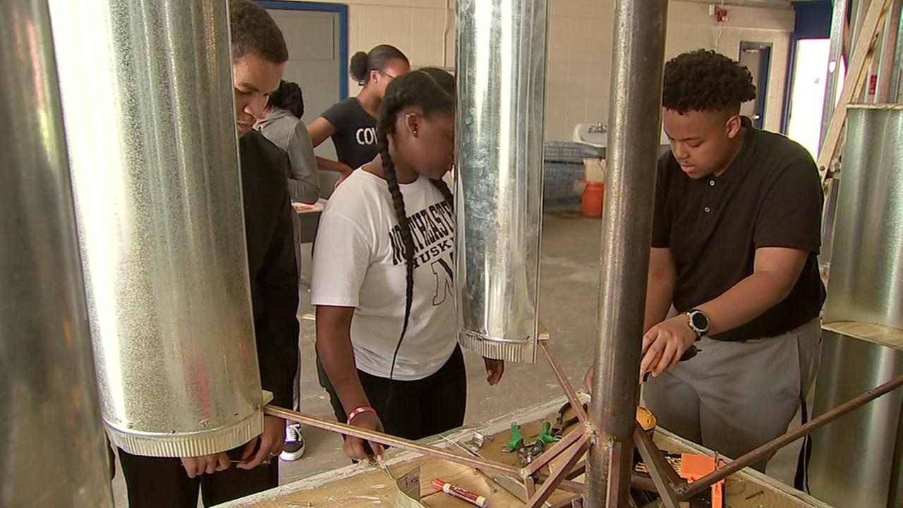Local STEM students help kids in Zimbabwe
