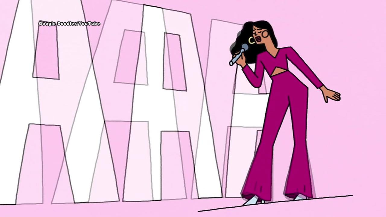 Google Doodle honors late Tejano star Selena
